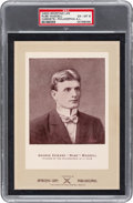 Baseball Cards:Singles (Pre-1930), 1902-11 W600 Sporting Life - Type 3 Rube Waddell (Street Clothes-Philadelphia) PSA EX-MT 6 - One of Only Two Graded by PSA! ...