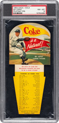 Baseball Cards:Singles (1950-1959), 1952 Coca-Cola Ed Lopat PSA NM-MT 8 - Only One Higher. ...
