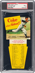 Baseball Cards:Singles (1950-1959), 1952 Coca-Cola Don Mueller PSA NM+ 7.5 - Pop Two, Only One...