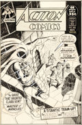 Original Comic Art:Covers, Curt Swan and Murphy Anderson Action Comics #406 Cover Original Art (DC, 1971)....