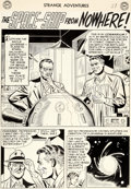 """Original Comic Art:Complete Story, Murphy Anderson and Bernard Sachs Strange Adventures #29Complete 6-Page Story """"The Space-Sh..."""