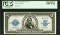 Fr. 282* $5 1923 Silver Certificate PCGS Choice About New 58PPQ