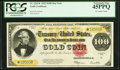 Large Size:Gold Certificates, Fr. 1215* $100 1922 Gold Certificate PCGS Extremely Fine 45PPQ.. ...