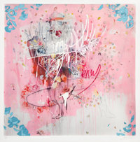Antony Micallef (b. 1975) I Shit Diamonds, 2013 Archival pigment and screenprint with hand coloring