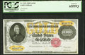 Large Size:Gold Certificates, Fr. 1225h $10,000 1900 Gold Certificate PCGS Gem New 65PPQ.. ...