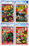 Bronze Age (1970-1979):Superhero, The Incredible Hulk CGC-Graded Group of 6 (Marvel, 1972-74).... (Total: 6 )