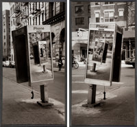 Jordan Seiler (American, b. 1979) Echo Project, diptych, 2013 Photographic print 51 x 27 inches (129.5 x 68.6 cm) (ea...
