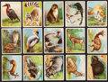 "Non-Sport Cards:Lots, 1909-10 T29 Hassan ""Animals"" Collection (30)...."