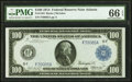 Fr. 1104 $100 1914 Federal Reserve Note PMG Gem Uncirculated 66 EPQ
