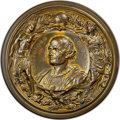 Expositions and Fairs, 1892 World's Columbian Exposition, Cristoforo Colombo Bronze Medal, Eglit-106, MS65 NGC. ...