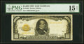 Small Size:Gold Certificates, Fr. 2408 $1,000 1928 Gold Certificate. PMG Choice Fine 15 Net.. ...