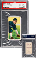 """Baseball Cards:Singles (Pre-1930), 1909-11 T206 Drum Billy Purtell PSA EX-MT+ 6.5 - One of the Finest """"Drum"""" T206s on the Planet! ..."""