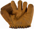 Autographs:Others, George Selkirk Model Glove & Signed Card....