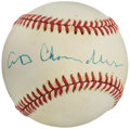 Autographs:Baseballs, Happy Chandler Single Signed Baseball....