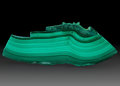 Lapidary Art:Carvings, Polished Malachite Slab. DR Congo. 7.09 x 2.35 x 0.85 inches(18.00 x 5.98 x 2.17 cm). ...