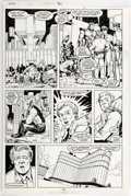 Original Comic Art:Panel Pages, Jeff Purves and Marie Severin Incredible Hulk #361 Page 29 Original Art (Marvel, 1989)....