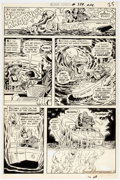 Original Comic Art:Panel Pages, Curt Swan and Murphy Anderson Action Comics #399 Story Page 4 Original Art Panel Page (DC Comics, 1971)....