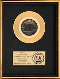 "Elton John ""Someone Saved My Life Tonight"" RIAA Gold Sales Award (MCA, 1975)"