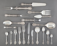 A One Hundred Forty-Two-Piece Reed and Barton Francis I Pattern Silver Flatware Service with