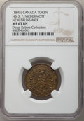 Canada, MS63 Brown NGC,...