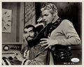 Movie/TV Memorabilia:Autographs and Signed Items, Buster Crabbe Signed and Inscribed Black and White Photo.. ...