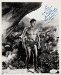Movie/TV Memorabilia:Photos, Buster Crabbe Signed and Inscribed King of the Jungle Black and White Photo. . ... (Total: 0 Items)
