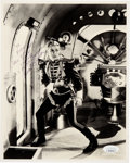 Movie/TV Memorabilia:Autographs and Signed Items, Buster Crabbe Signed and Inscribed Flash Gordon Black and White Photo. . ...