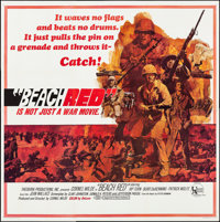 "Beach Red (United Artists, 1967). Folded, Very Fine+. Six Sheet (78.75"" X 80""). War"