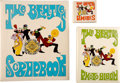 Music Memorabilia:Memorabilia, The Beatles Set of Three Scrapbook & Photo Albums (A&M Leatherline, 1968). . ...