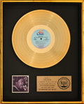Music Memorabilia:Awards, Barry White Just Another Way to Say I Love You RIAA Gold Sales Award (20th Century, 1975). . ...