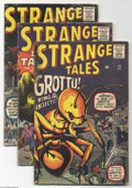 Golden Age (1938-1955):Horror, Strange Tales Group (Marvel, 1960-61) Condition: Average GD/VG.Five-issue lot includes #73, 75, 77, 78, 79, and 80. All hav...(Total: 6 Comic Books Item)