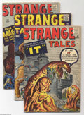 Golden Age (1938-1955):Horror, Strange Tales Group (Marvel, 1961-62) Condition: Average VG-.Seven-issue lot features #82, 83, 84, 88, 90, 91, and 92. All ...(Total: 7 Comic Books Item)