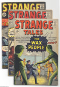 Golden Age (1938-1955):Horror, Strange Tales Group (Marvel, 1962) Condition: Average VG.Seven-issue lot includes #93, 95, 96, 97, 98, 99, and 100. Allhav... (Total: 7 Comic Books Item)