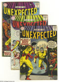 Silver Age (1956-1969):Horror, Tales of the Unexpected Group (DC, 1963-67) Condition: Average VG.This group includes #78, 79 (popped staple), 80, 91, and ...(Total: 5 Comic Books Item)