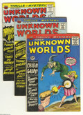 Silver Age (1956-1969):Horror, Unknown Worlds Group (ACG, 1965-67) Condition: Average VG-. Thisgroup includes #43, 44, 46, 47, 48, 49 (Steve Ditko art), 5...(Total: 13 Comic Books Item)