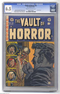 Golden Age (1938-1955):Horror, Vault of Horror #32 (EC, 1953) CGC FN+ 6.5 Cream to off-whitepages. Johnny Craig cover. Craig, Jack Davis, George Evans, an...