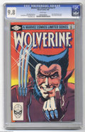 Modern Age (1980-Present):Superhero, Wolverine (Limited Series) #1 (Marvel, 1982) CGC NM/MT 9.8 Whitepages. First solo Wolverine comic. Frank Miller cover and a...