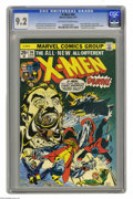 Bronze Age (1970-1979):Superhero, X-Men #94 (Marvel, 1975) CGC NM- 9.2 Off-white to white pages.Debut of the new X-Men in this series. Second appearance of C...