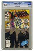 Modern Age (1980-Present):Superhero, X-Men #244 (Marvel, 1989) CGC NM/MT 9.8 white pages. Firstappearance of Jubilee. Marc Silvestri and Dan Green cover andart...