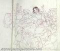 Original Comic Art:Miscellaneous, Sparky Moore - Snow White and the Seven Dwarfs Preliminary OriginalArt (undated). Sparky Moore was perhaps best known for h...