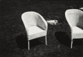 Photographs:Gelatin Silver, Andy Warhol (American, 1928-1987). Wicker Chairs, 1982. Gelatin silver. 6 x 8-7/8 inches (15.2 x 22.5 cm). Photographer'...