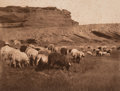 Photographs:Photogravure, Edward Sheriff Curtis (American, 1868-1952). Navaho Flocks, Getting Water-Havasupai, and Pakit-Maricopa (3 works), 1903-... (Total: 3 )