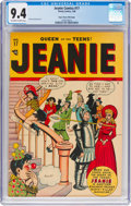 Golden Age (1938-1955):Humor, Jeanie Comics #17 Mile High Pedigree (Timely, 1948) CGC NM 9.4 Off-white to white pages....