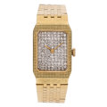 Estate Jewelry:Watches, Lady's Diamond, Gold Watch. ...