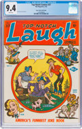 Golden Age (1938-1955):Humor, Top-Notch Comics #37 Mile High Pedigree (MLJ, 1943) CGC NM 9.4 White pages....