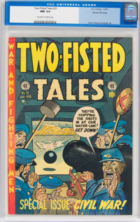 Two-Fisted Tales #31 Gaines File Pedigree 6/12 (EC, 1953) CGC NM 9.4 Off-white to white pages