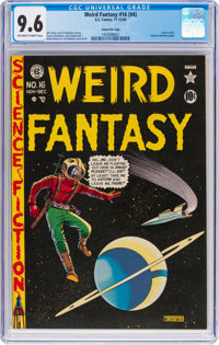 Weird Fantasy #16 (#4) Gaines File Pedigree (EC, 1950) CGC NM+ 9.6 Off-white to white pages