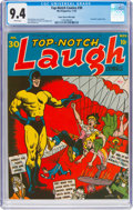 Golden Age (1938-1955):Humor, Top-Notch Comics #30 Mile High Pedigree (MLJ, 1942) CGC NM 9.4 White pages....