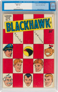 Golden Age (1938-1955):Adventure, Blackhawk #11 Mile High Pedigree (Quality, 1946) CGC NM 9.4 White pages....