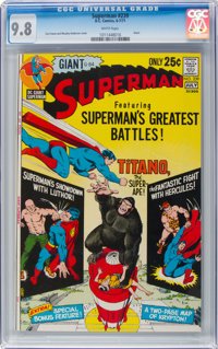 Superman #239 (DC, 1971) CGC NM/MT 9.8 White pages